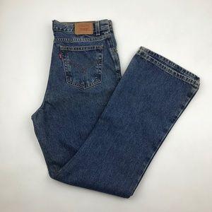 Vintage Levi's 517 High Waist wedgie fit Jeans